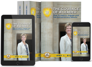 Courage of a Leader by Amy Riley